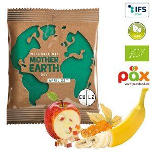 PÄX Knusper-Frucht-Mix BIO als Werbeartikel mit Logo im PRESIT Online-Shop bedrucken lassen