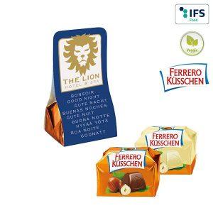 1er Ferrero Küsschen als Werbeartikel mit Logo im PRESIT Online-Shop bedrucken lassen