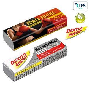 DEXTRO ENERGY Stange - SPORT + Vitamine & Magnesium als Werbeartikel mit Logo im PRESIT Online-Shop bedrucken lassen