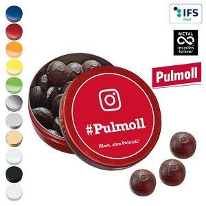 XS-Taschendose mit Pulmoll Original Pastillen als Werbeartikel mit Logo im PRESIT Online-Shop bedrucken lassen
