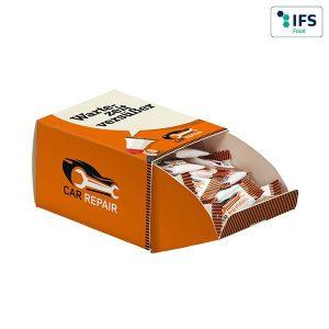 Promotion Display Box SUPER-MINI als Werbeartikel mit Logo im PRESIT Online-Shop bedrucken lassen