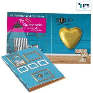 Süßes Briefchen als Werbeartikel mit Logo im PRESIT Online-Shop bedrucken lassen