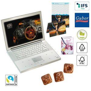 A5-Cover-Adventskalender BUSINESS als Werbeartikel mit Logo im PRESIT Online-Shop bedrucken lassen
