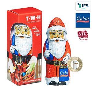 Gubor Weihnachtsmann als Werbeartikel mit Logo im PRESIT Online-Shop bedrucken lassen