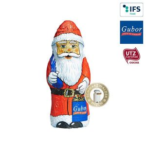 Gubor Weihnachtsmann - neutrale Ware als Werbeartikel mit Logo im PRESIT Online-Shop bedrucken lassen