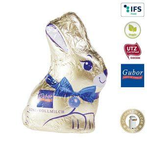 Gubor Osterhase - neutrale Ware als Werbeartikel mit Logo im PRESIT Online-Shop bedrucken lassen