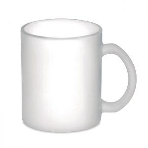 Kaffeebecher aus Glas 300 ml SUBLIMATT - Tassen