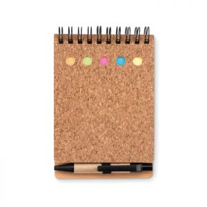 Notizbuch mit Markern MULTICORK - Notizblöcke