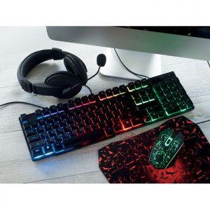 4teiliges Gaming Set LEVEL UP - Mäuse