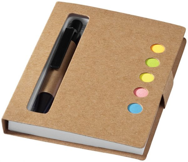 Reveal buntes Haftnotizheftchen mit Stift im PRESIT Werbeartikel Online-Shop