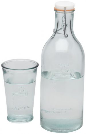 Ford 970 ml Karaffe mit Recycling Glas im PRESIT Werbeartikel Online-Shop