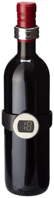 Barlot 2-teiliges Weinthermometer und Weinring-Set im PRESIT Werbeartikel Online-Shop