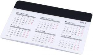 Chart Mauspad mit Kalender im PRESIT Werbeartikel Online-Shop