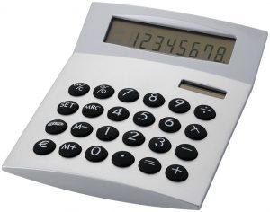 Face-it Taschenrechner im PRESIT Werbeartikel Online-Shop