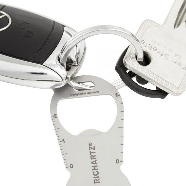 Richartz Einkaufswagenlöser duo – Schlüsselring