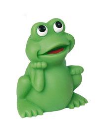 Quietsche-Frosch als Werbeartikel mit Logo im PRESIT Online-Shop bedrucken lassen