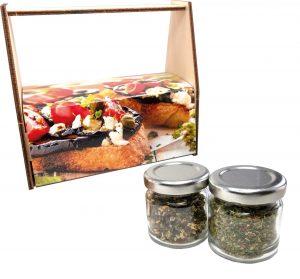 Gewürz-Kiste als Werbeartikel mit Logo im PRESIT Online-Shop bedrucken lassen