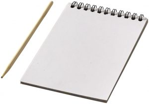 Waynon bunter Kratzblock mit Stift im PRESIT Werbeartikel Online-Shop