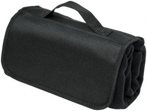 Meadow Picknickdecke aus Fleece mit Klettverschluss im PRESIT Werbeartikel Online-Shop