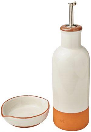 Terracotta-Sprenkler und Dip-Set im PRESIT Werbeartikel Online-Shop