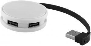 Round USB-Hub mit 4 Anschlüssen im PRESIT Werbeartikel Online-Shop