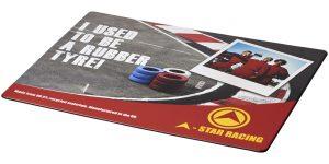Brite-Mat® Mauspad mit Reifenmaterial im PRESIT Werbeartikel Online-Shop