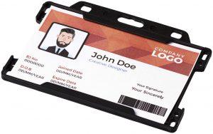 Vega Kartenhalter aus Kunststoff im PRESIT Werbeartikel Online-Shop