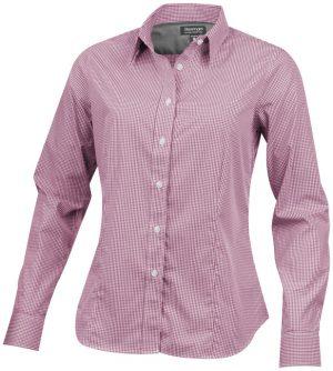 Net langärmlige Bluse im PRESIT Werbeartikel Online-Shop