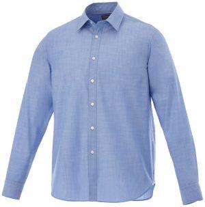 Lucky langärmliges Hemd in Jeansoptik im PRESIT Werbeartikel Online-Shop
