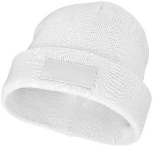 Boreas Mütze mit Aufnäher im PRESIT Werbeartikel Online-Shop