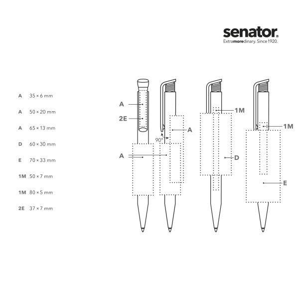 Detailansicht 1 – senator® Super Hit Polished Druckkugelschreiber