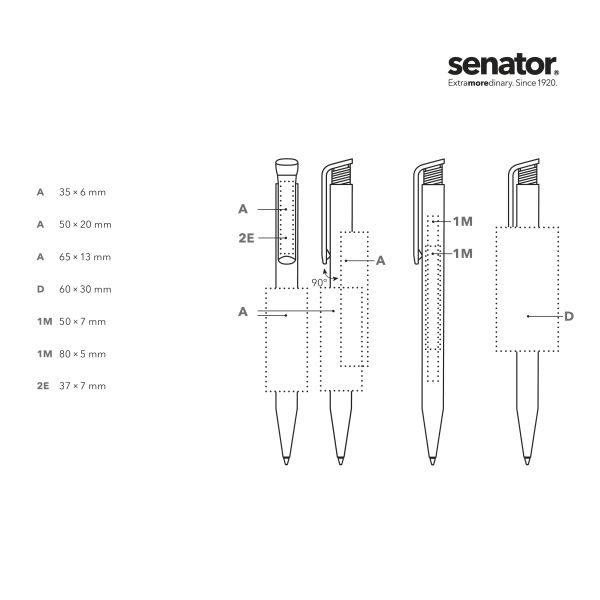 Detailansicht 1 – senator® Super Hit BIO Druckkugelschreiber