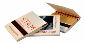 Zündholzbriefchen BMJ20 als Werbeartikel mit Logo im PRESIT Online-Shop bedrucken lassen