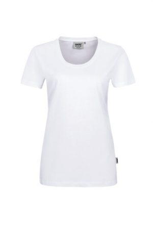 HAKRO Damen T-Shirt Classic (No. 127) als Werbeartikel mit Logo im PRESIT Online-Shop bedrucken lassen