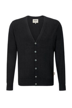 HAKRO Cardigan Merino-Wool (No. 150) als Werbeartikel mit Logo im PRESIT Online-Shop bedrucken lassen