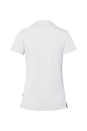Detailansicht 2 – HAKRO Cotton Tec Damen V-Shirt (No. 169)