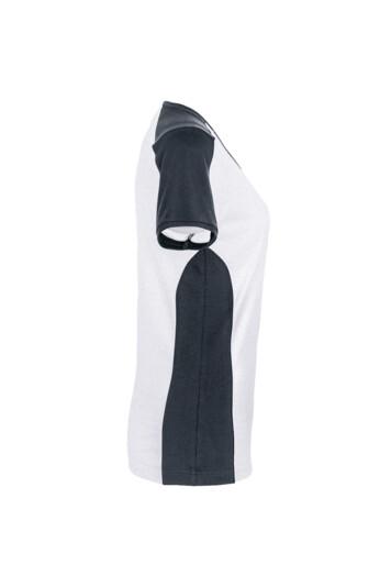 Detailansicht 3 – HAKRO Damen V-Shirt Contrast Mikralinar® (No. 190)