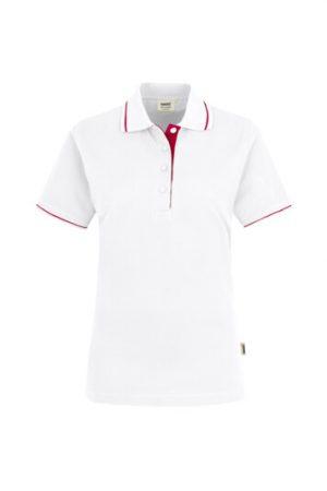 HAKRO Damen Poloshirt Casual (No. 203) als Werbeartikel mit Logo im PRESIT Online-Shop bedrucken lassen