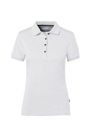 HAKRO Cotton Tec Damen Poloshirt (No. 214) als Werbeartikel mit Logo im PRESIT Online-Shop bedrucken lassen
