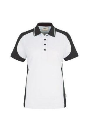 HAKRO Damen Poloshirt Contrast Mikralinar® (No. 239) als Werbeartikel mit Logo im PRESIT Online-Shop bedrucken lassen