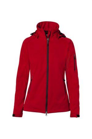 HAKRO Damen Softshelljacke Alberta (No. 248) als Werbeartikel mit Logo im PRESIT Online-Shop bedrucken lassen