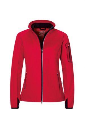 HAKRO Damen Light-Softshelljacke Sidney (No. 256) als Werbeartikel mit Logo im PRESIT Online-Shop bedrucken lassen