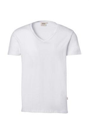 HAKRO V-Shirt Stretch (No. 272) als Werbeartikel mit Logo im PRESIT Online-Shop bedrucken lassen