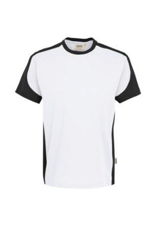 HAKRO T-Shirt Contrast Mikralinar® (No. 290) als Werbeartikel mit Logo im PRESIT Online-Shop bedrucken lassen