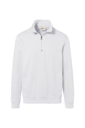 HAKRO Zip-Sweatshirt Premium (No. 451) als Werbeartikel mit Logo im PRESIT Online-Shop bedrucken lassen