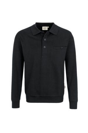 HAKRO Pocket-Sweatshirt Premium (No. 457) als Werbeartikel mit Logo im PRESIT Online-Shop bedrucken lassen