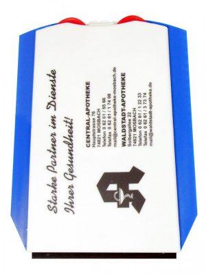 Parkscheibe mit 2 Chips EUROPA als Werbeartikel mit Logo im PRESIT Online-Shop bedrucken lassen