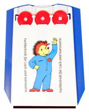 Parkscheibe mit 3 Chips TRIPLE CHIP als Werbeartikel mit Logo im PRESIT Online-Shop bedrucken lassen