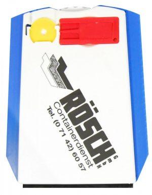 Parkscheibe mit Reifenprofilmesser CHIP & PROOF als Werbeartikel mit Logo im PRESIT Online-Shop bedrucken lassen
