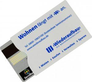 Kartenschutzhülle ALDO BOXXI als Werbeartikel mit Logo im PRESIT Online-Shop bedrucken lassen